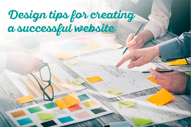 Simple design tips for creating a successful website