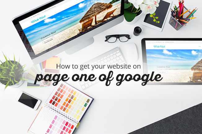 How to get your website on page one of Google