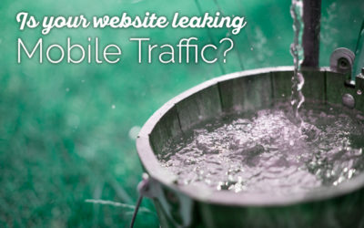 How to stop your website leaking precious mobile traffic
